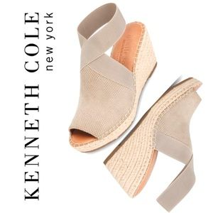NWOT COLLEEN ESPADRILLE WEDGE SANDAL Kenneth Cole